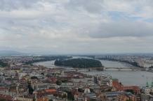 L'ile Marguerite vue depuis Buda